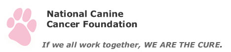 Together, We are the Cure. Canine Cancer